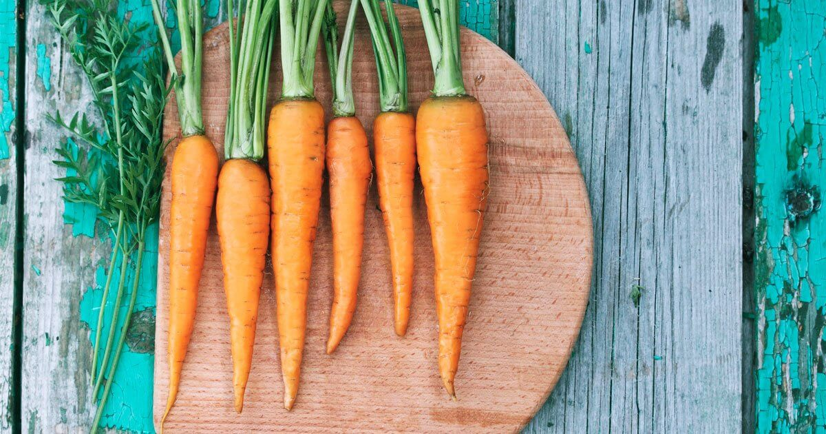 Carrots for healthy eyes